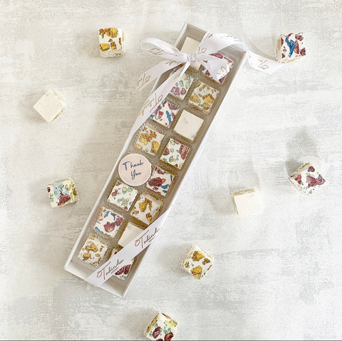 "Tadinka Nougat ""Thank You"" gift box (16 pieces)"