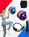 Fitness Resistance Bands with Ankle Straps Cuff - My Shop Citi