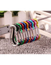 20PCS Aluminum Carabiner Key Chain Clip Outdoor Camping Kit - My Shop Citi