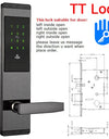 APP Remotely WIFI Bio-metric Smart Door Lock - My Shop Citi