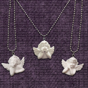 White Angel Pendant