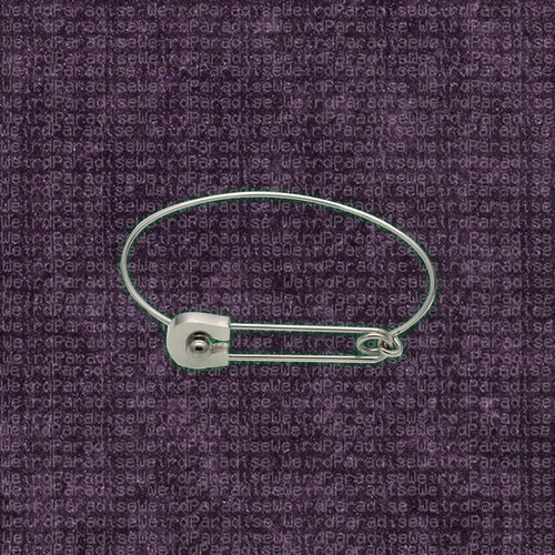 Safety Pin Style Bracelet