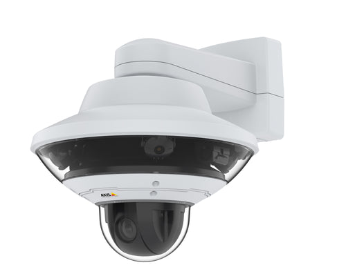Santa Cruz Video Security LLC - Image - AXIS Q6010-E  Panoramic Network Camera  -  Angel View Left