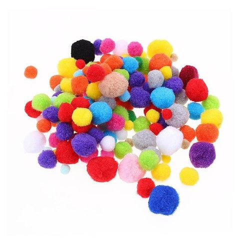 Soft Cat Toy Balls Kitten Toys Candy color Assorted Ball Interactive Cat Toys Play Scratch Catch Pet Kitten