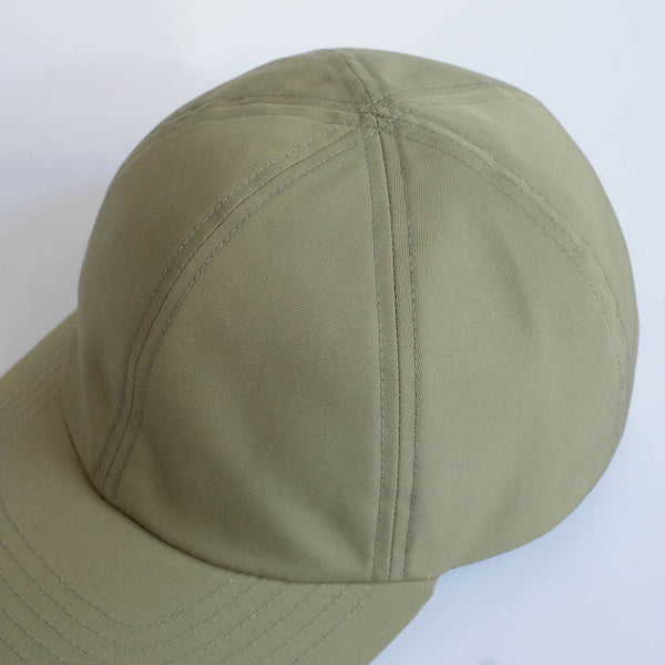 MATURE HA._MIL Trainer Cap / Water Proofed Cotton SAGE