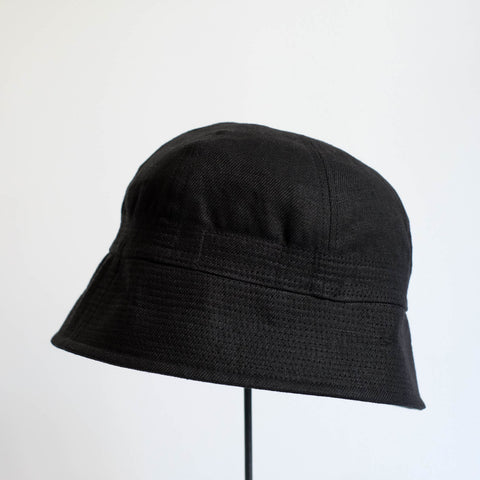 MATURE HA._MIL Marine Hat / BLACK