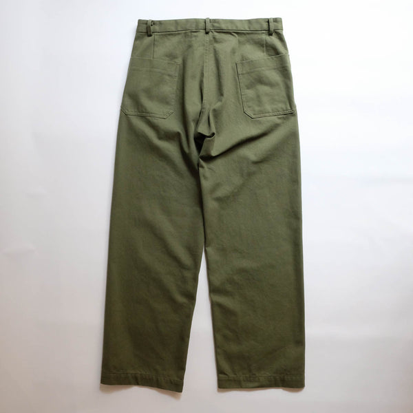 Dhal CHINO TROUSERS OLIVE