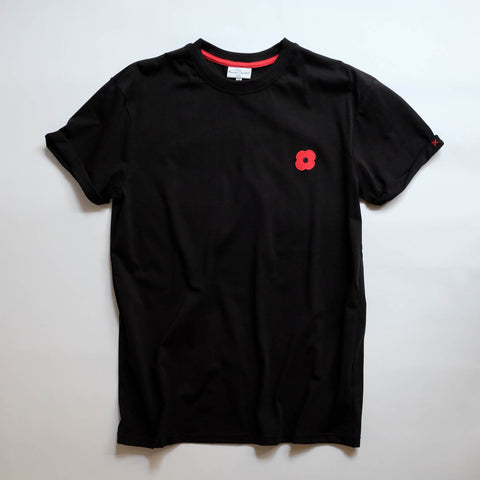 Monsieur Coquelicot T-SHIRT BLACK