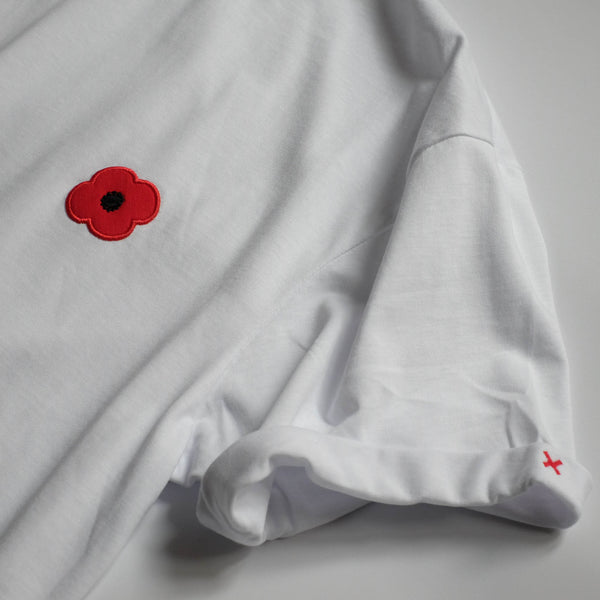 Monsieur Coquelicot T-SHIRT WHITE
