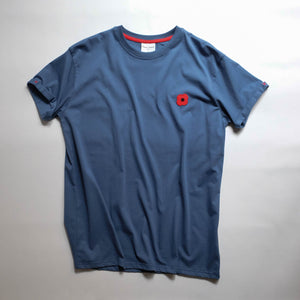 Monsieur Coquelicot T-SHIRT BLUE