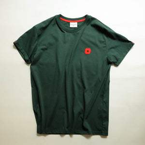 Monsieur Coquelicot T-SHIRT GREEN