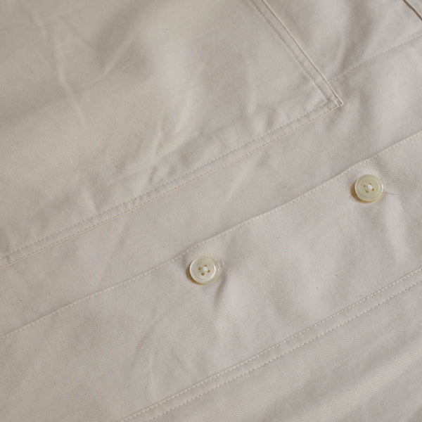 TANDEM DENIM WORK SHIRT WHITE