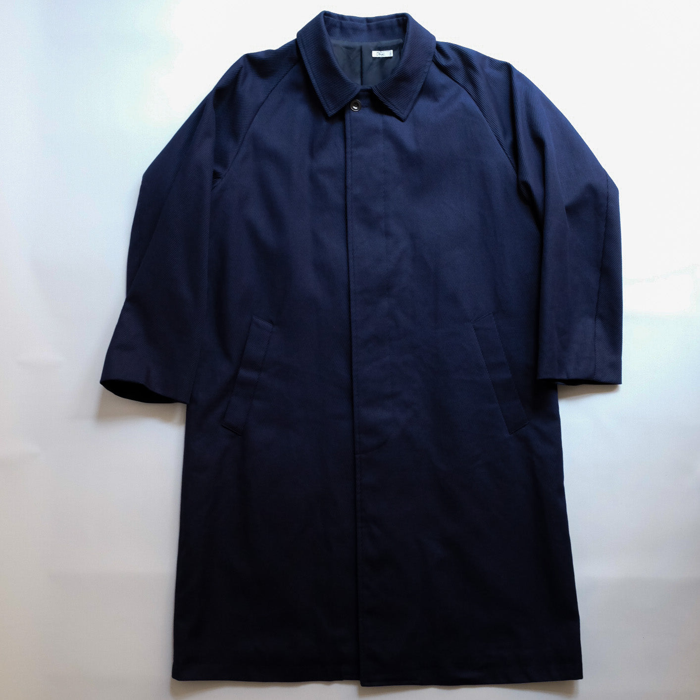 Dhal COTTON COAT NAVY