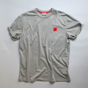 Monsieur Coquelicot T-SHIRT GREY