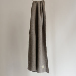 LOCALLY CASHMERE SCARF GREY