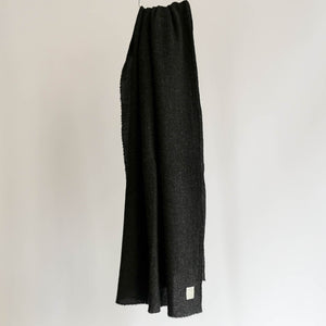 LOCALLY CASHMERE SCARF CHARCOAL