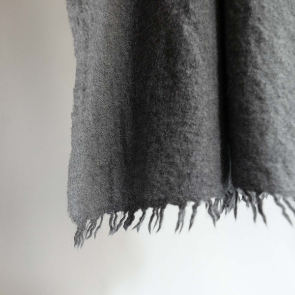 LOCALLY WOOL SCARF GREY