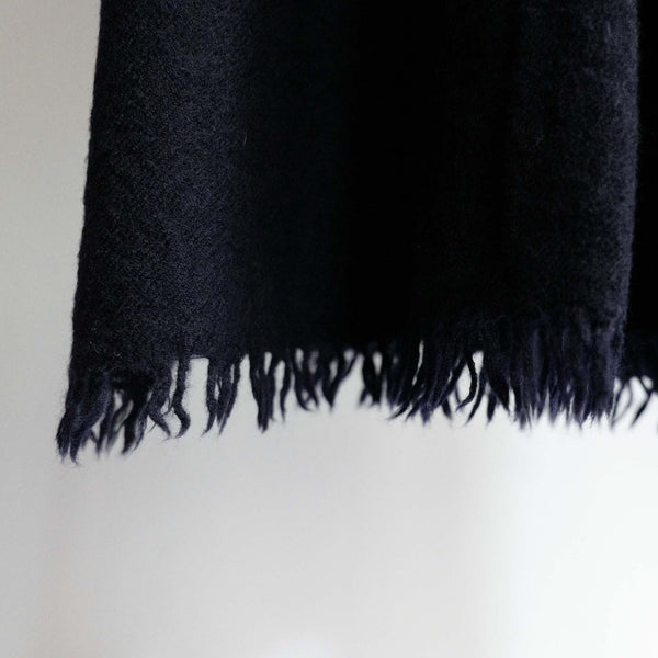 LOCALLY WOOL SCARF NAVY