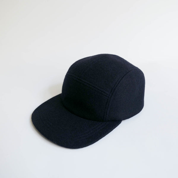 MATURE HA._MIL Melton Jet Cap / NAVY