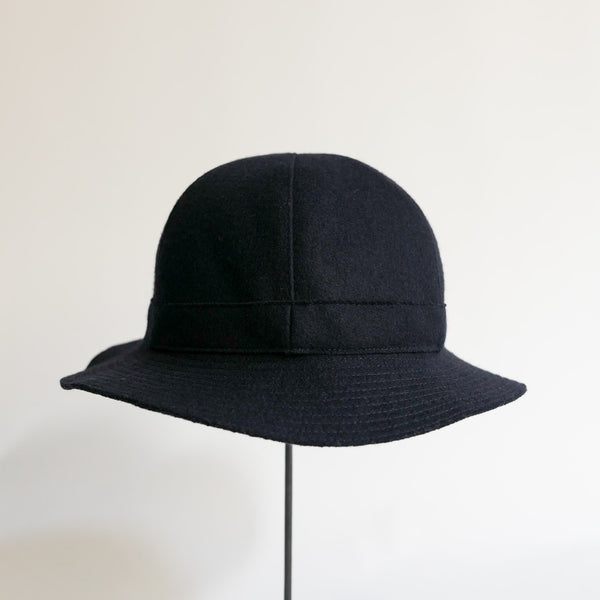 MATURE HA._MIL Melton Metro Hat / NAVY