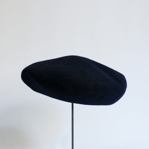 MATURE HA._MIL Military Beret / NAVY
