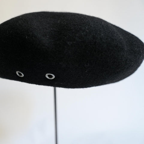 MATURE HA._MIL Military Beret / BLACK