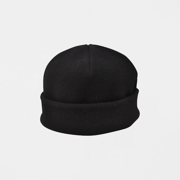 MATURE HA._MIL Fleece Watch Cap / BLACK