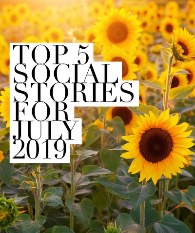 Our Top 5 Social Stories for July 2019