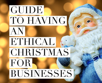 We challenge your business to have a more socially-conscious Christmas. Follow our recommendations to make this transition effortless and affordable.