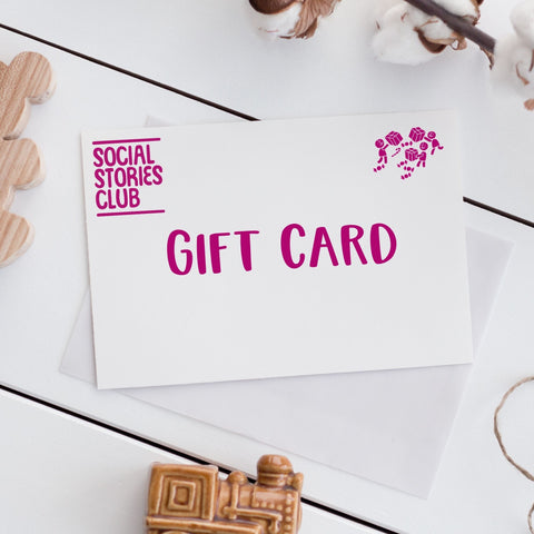 Social Stories Club Gift Card