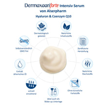 Laden Sie das Bild in den Galerie-Viewer, Dermaxaan forte Hyaluron & Q10 Serum - Anti Aging Serum