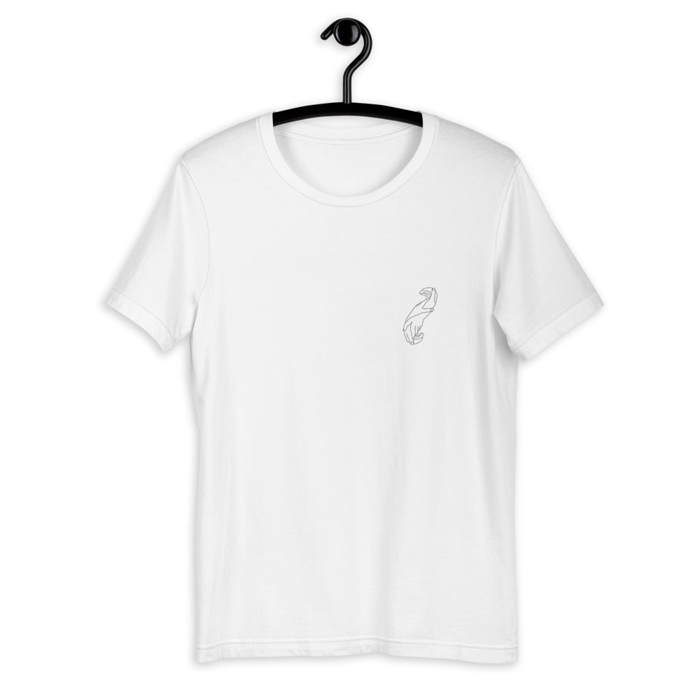Maintenir T-Shirt - Black - White