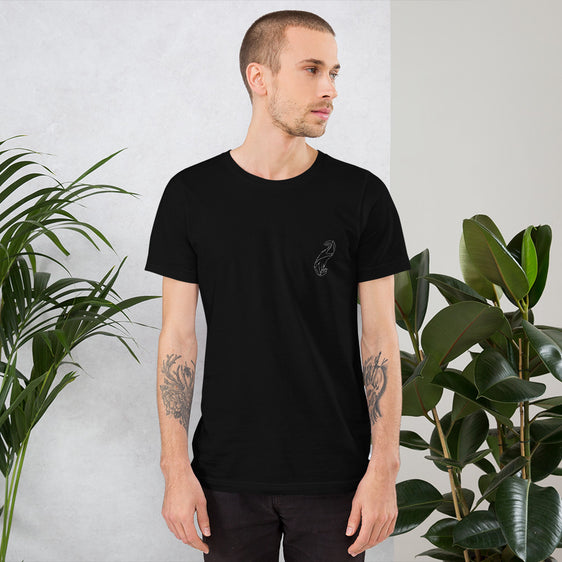''Maintenir'' T-Shirt Unisex in black & in white