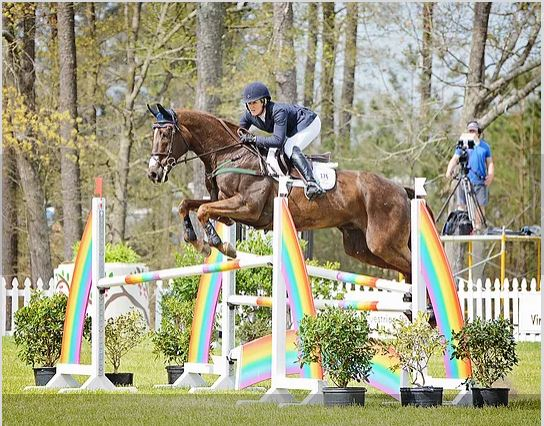 Nupafeed® Allison Springer wins at the Carolina International