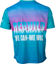 "Hurricane Michael ""Rebuild: We Can - We Will"" Tech Tee"