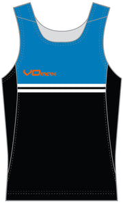 Men's Running Singlet-Striped