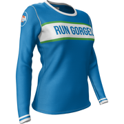 Run Gorges + Womens Long Sleeve REC T Elite