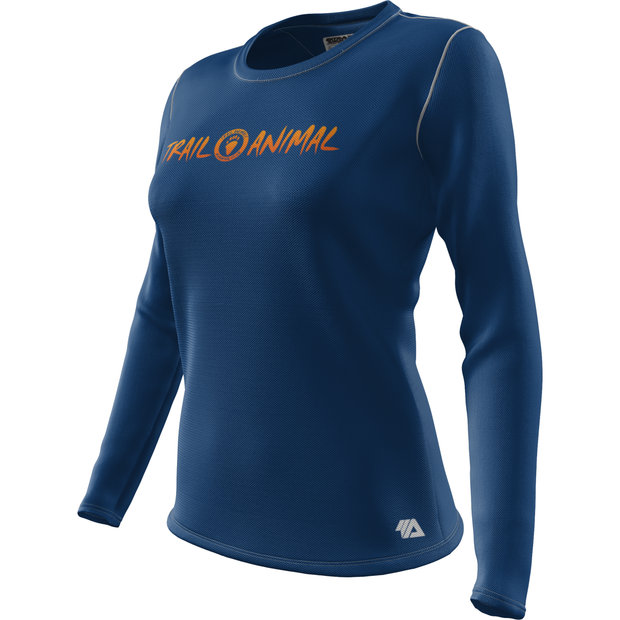 Trail Animals + Womens Long Sleeve REC T Elite