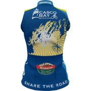 CBBC Sun Rays Womens Sleeveless REC Cycling Jersey