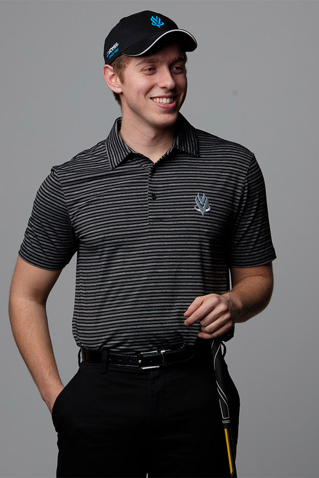2019 VOmax Golf Polo - Black