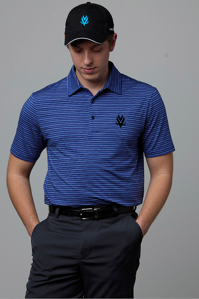 VOmax 2019 Golf Polo - Blue