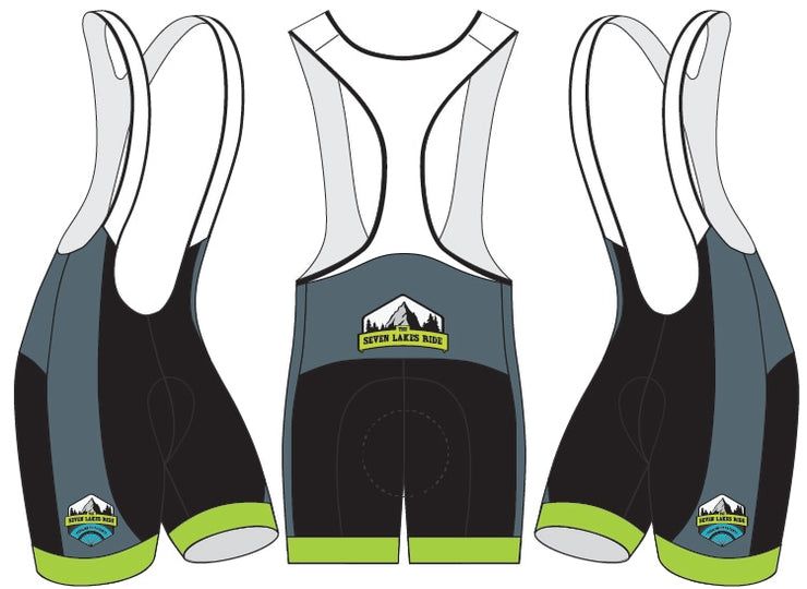 Seven Lakes Ride Cycling Bibs