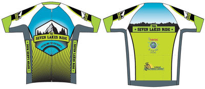 Seven Lakes Ride Elite Race Cycling Jersey
