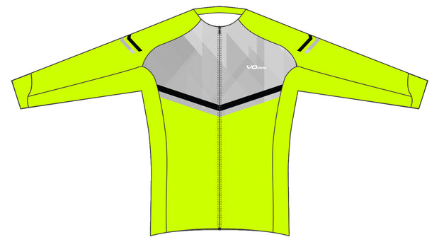 Men's Spatial Long Sleeve Pro Cycling Jersey