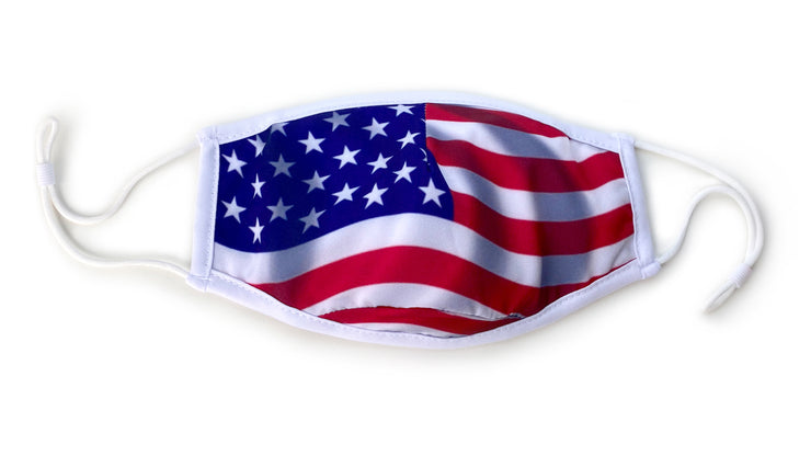 3-Layer Face Mask – American Flag