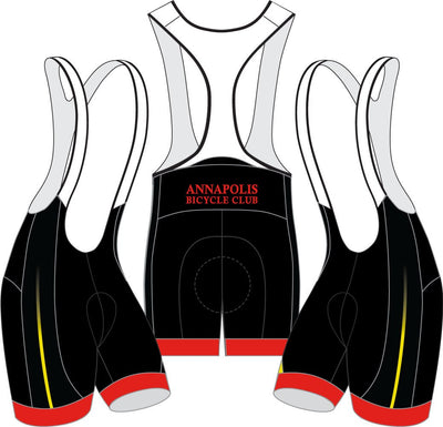 Annapolis Bicycle Club Cycling Bibs-NEW DESIGN