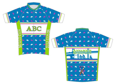 Womens Annapolis Bicycle Club Short Sleeve Cycling Jersey