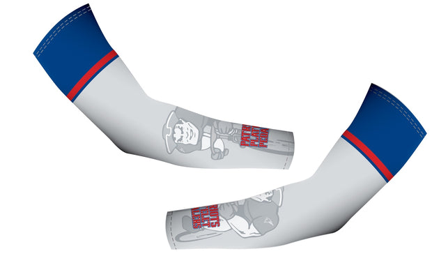 Patriot Platelet Pedalers Arm Warmers