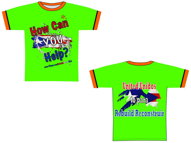 B120 RPR Short Sleeved Youth Tech Tee