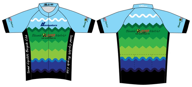 Sound Cyclists Bloomin' Metric Cycling Jersey